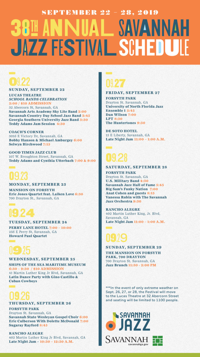 2019 Sav Jazz Online Schedule_update Sept 9.13_C